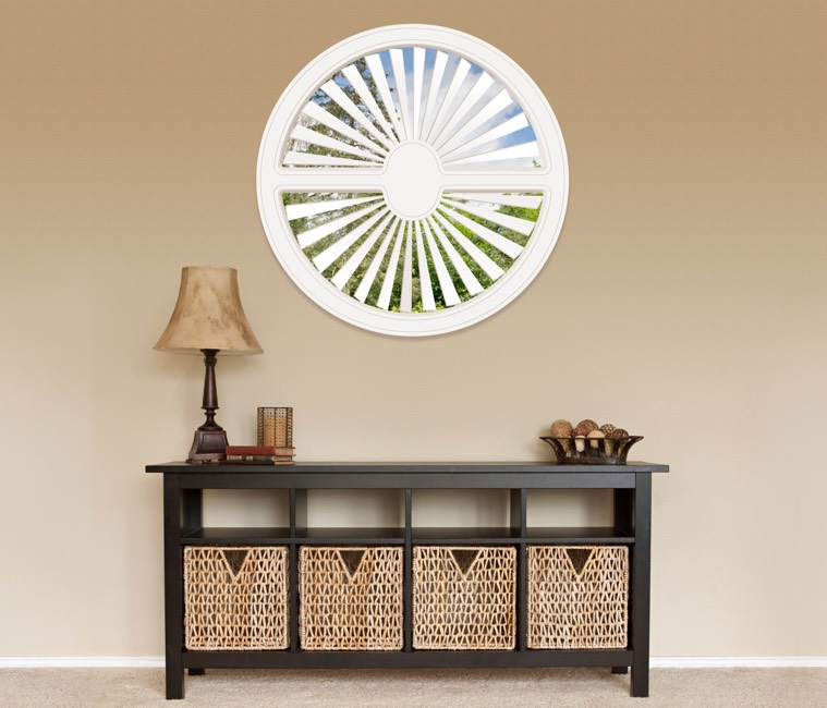 Circular Shutters in Miami, FL