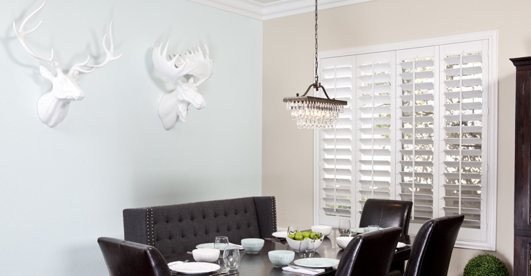 Miami dining room shutters