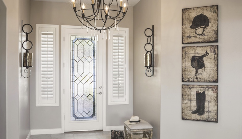 Miami entryway shutters