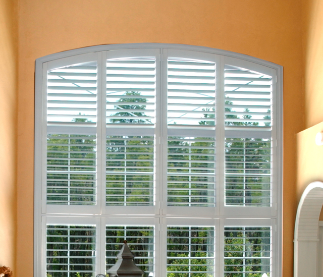 Arched Window Shutters In Miami, FL