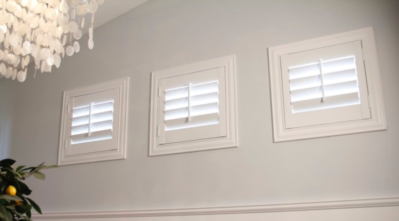 Miami small window shutters