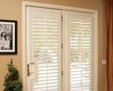 Miami french door shutters
